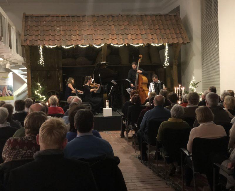 Die Bürgerstiftung Erinnert An Viele Gelungene Projekte Und An Das Letzte Konzert Im Kutschenmuseum Im Dezember.