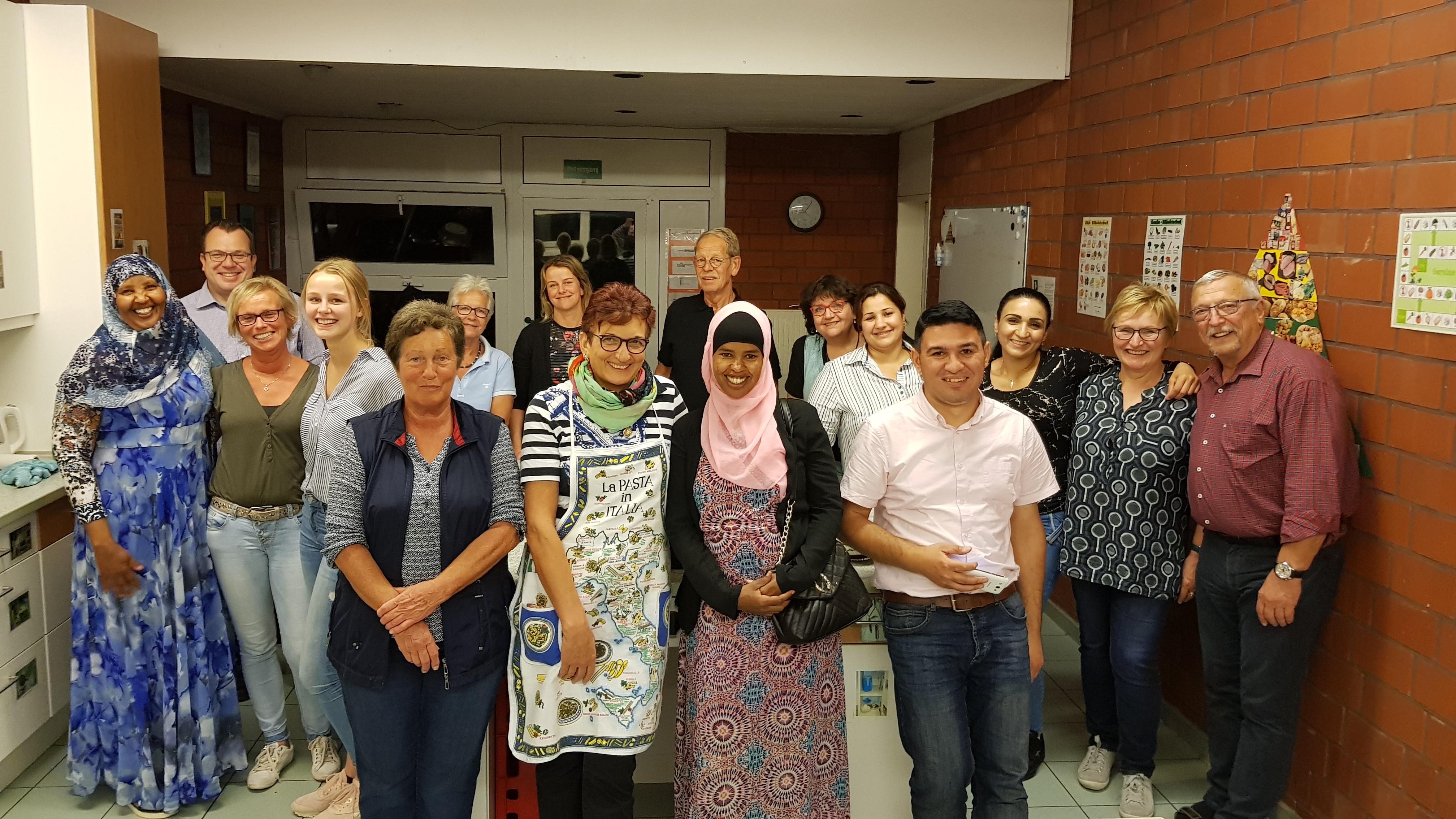 Kulinarische Begegnung – Bürgerstiftung Unterstützt Buntes Haus