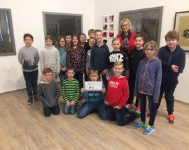 Schülerinnen Und Schüler In Der Otto Pankok Ausstellung