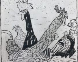 Otto Pankok II – Kinder Und Jugendliche Im Dialog Mit Otto Pankok – Bürgerstiftung Lädt Am Freitag 27.9.2019, Zur Vernissage Ins Rathaus Ein