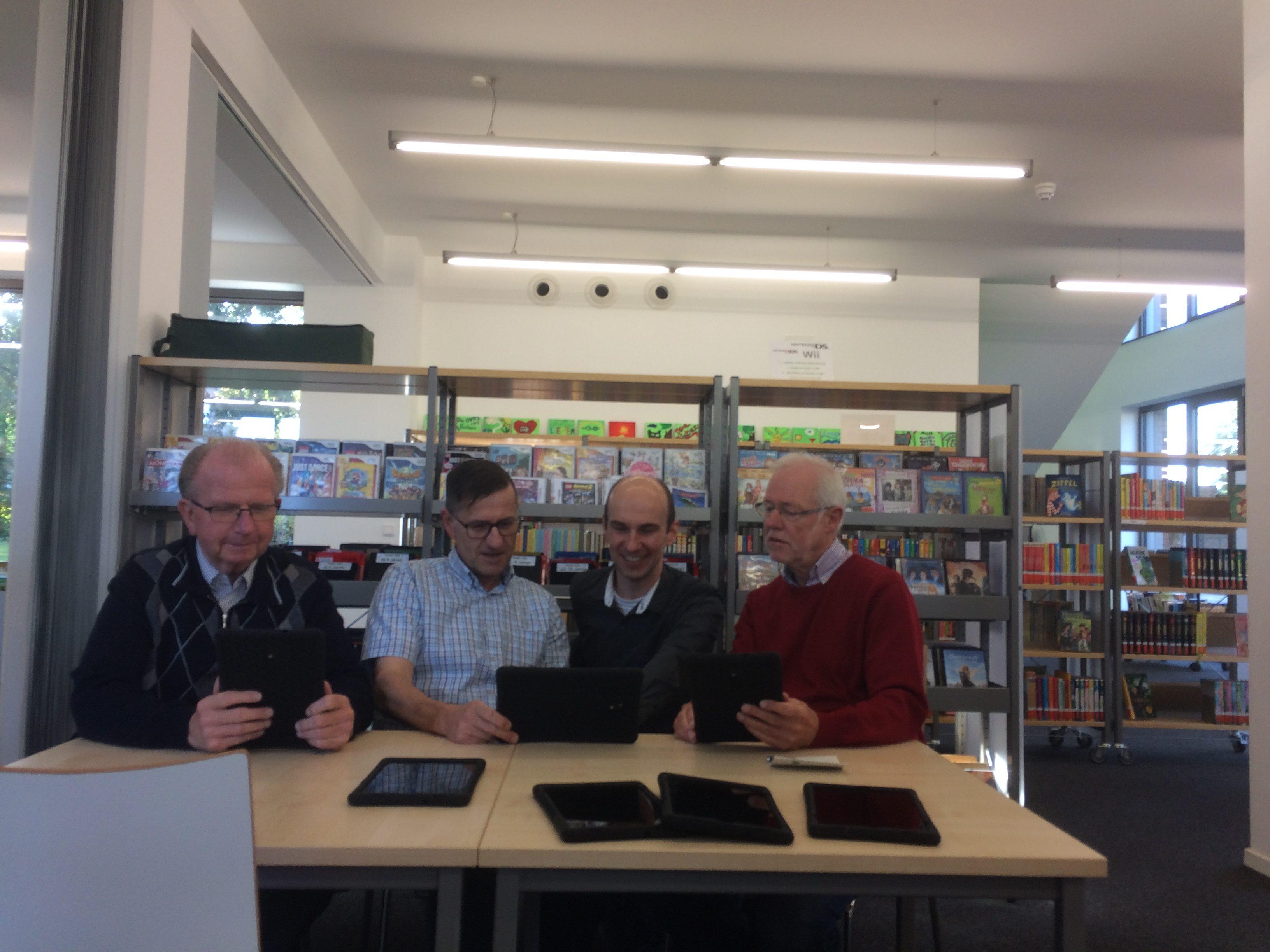 Bürgerstiftung Stattet Bücherei St. Pankratius Mit 15 Tablets Aus – Digitale Angebote Steigern Attraktivität